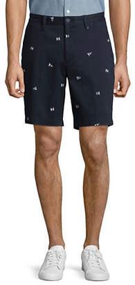 Nautica Flag Printed Shorts