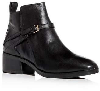 7d313c3e6b3 Cole Haan Black Leather Upper Women's Boots - ShopStyle