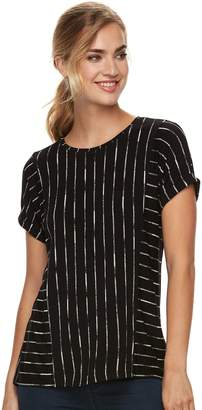 Apt. 9 Women's Abstract Ribbed Tee