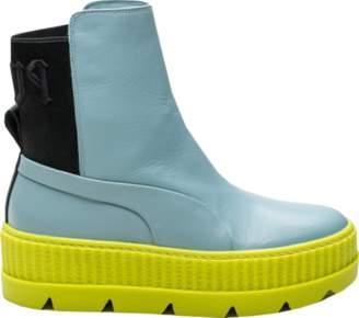 Puma Chelsea Sneaker Boot Rihanna Fenty Sterling Blue (W)