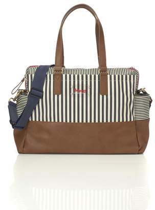 Babymel Motherhood Maternity Millie Diaper Bag- Navy Stripe