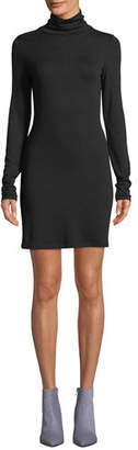 Rag & Bone Landon Turtleneck Long-Sleeve Body-con Sweaterdress
