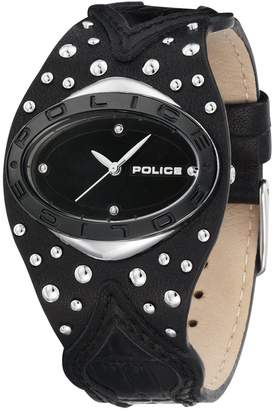 Police PL-11600MST-02 Women's Vamp Leather Strap Dial Watch