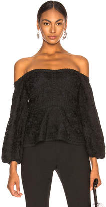 Alexis Joscelin Top in Black Lace | FWRD