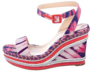 Christian Louboutin Duplice Espadrille Wedges