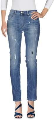 Grey Daniele Alessandrini Denim pants - Item 42580943BQ