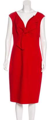 Oscar de la Renta Casual Midi Dress