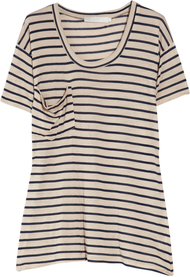 Kain Oversized striped modal T-shirt
