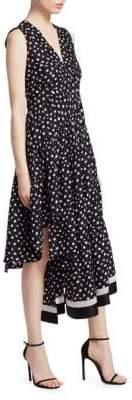 3.1 Phillip Lim Floral V-Neck Dress