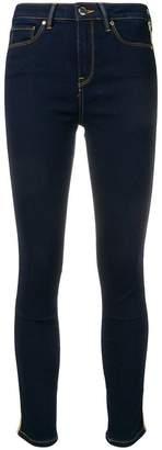 Tommy Hilfiger lurex stripe skinny jeans