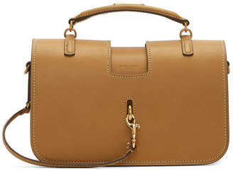 Saint Laurent Brown Medium Charlotte Messenger Bag