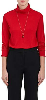 Boon The Shop Women's Keyhole-Back Cashmere-Silk Sweater