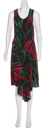 Barbara Bui Printed Silk Dress
