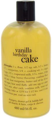 Philosophy philosophy 3 n 1 Shampoo, Shower Gel & Bubble Bath Vanilla Birthday Cake