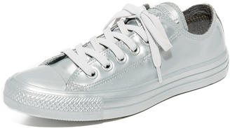 Converse Chuck Taylor All Star Ox Metallic Sneakers $70 thestylecure.com
