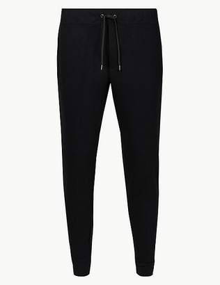 Marks and Spencer New Cotton Blend Cuffed Joggers