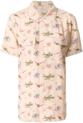 Levi's print fitted blouse