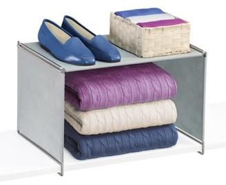 Lynk Vela Closet Shelf Organizer - Extra Shelf - Platinum