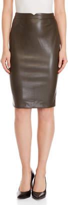 philosophy Faux Leather Pencil Skirt