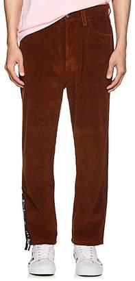 Palm Angels Men's Cotton Corduroy Crop Trousers