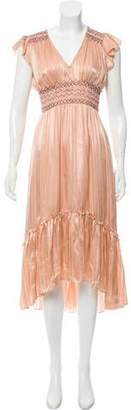 Ulla Johnson Silk Midi Dress