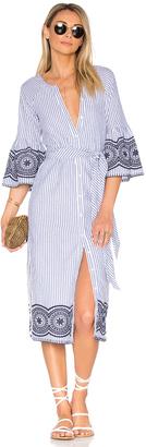 Tularosa x REVOLVE Halo Midi Dress $238 thestylecure.com