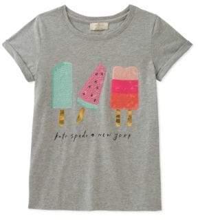 Kate Spade Girl's Summer Treats Cotton Tee