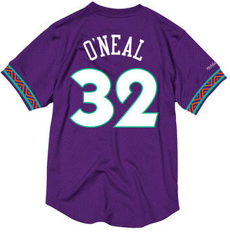 Mitchell & Ness Men's Shaquille O'Neal Nba All Star 1995 Mesh Crew Neck Jersey