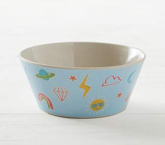 Pottery Barn Kids Happy Face Bowl