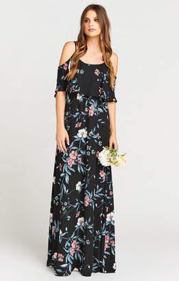 Show Me Your Mumu Caitlin Ruffle Maxi Dress ~ GWSXMumu Wedding Soiree