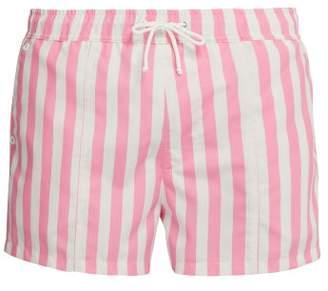 422f02791f724 Bower - Swag Striped Swim Shorts - Mens - Pink Stripe