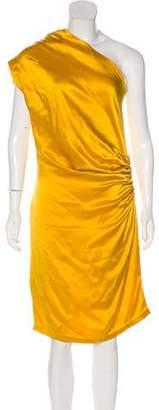 Thakoon Pleated Silk Dress