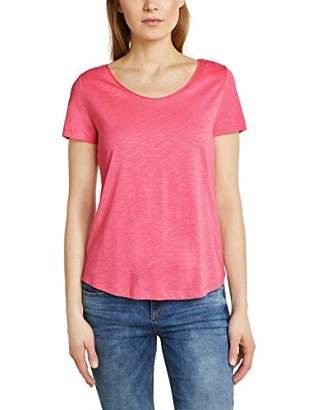 Street One Women's 313388 Gerda T-Shirt, (Blossom Pink 117), 8 (Size: 34)
