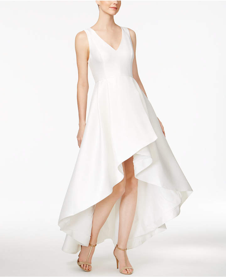 Calvin KleinCalvin Klein High-Low A-Line Gown