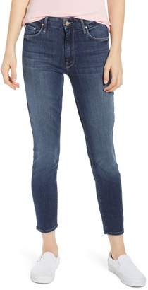 Mother 'The Looker' Crop Skinny Jeans