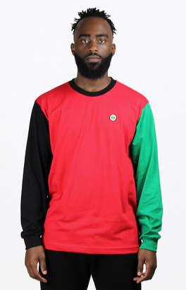 Cross Colours Colorblock Long Sleeve T-Shirt
