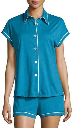 Cosabella Bella Cap-Sleeve Pajama Set $115 thestylecure.com