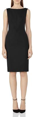 REISS Dartmouth Sheath Dress $340 thestylecure.com