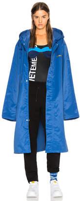 Vetements Entry Level Long Raincoat