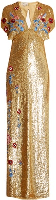 Wild Horse sequin-embellished gown