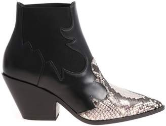 Casadei Elasticated Ankle Boots