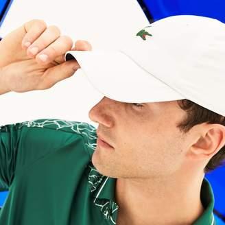 Lacoste Men's SPORT Microfiber Cap - x Novak Djokovic On Court Premium Edition