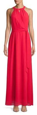 Vince Camuto Maxi Halter Dress
