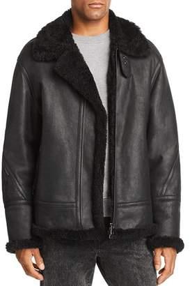 Maximilian Furs Airheart Lamb Shearling Jacket