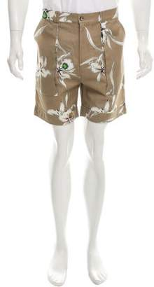 Valentino Floral Print Shorts w/ Tags