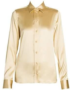 Bottega Veneta Women's Stretch Silk Blend Blouse