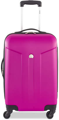 """Delsey Closeout! COMETE 20"""" Expandable Carry-On Spinner Suitcase"""