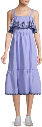 Kate Spade Daisy Embroidered Maxi Dress
