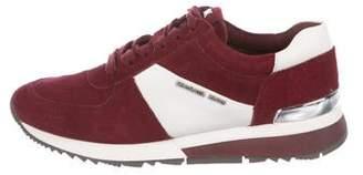 Michael Kors Allie Suede Low-Top Sneakers