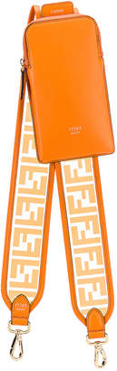 Fendi Bag Strap in Orange | FWRD